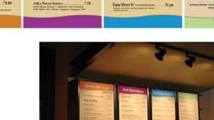 Retail Menu Boards